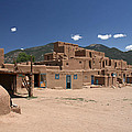 Taos Pueblo by Elizabeth Rose