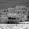 Taos Pueblo by Helen Haw