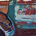 Taos  Truck 2 by John Hansen