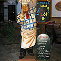 Tapas Man In Spain by Greg Matchick
