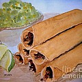 Taquitos With Salsa by Carol Grimes