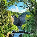 Taughannock Falls Overlook by Adam Jewell