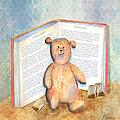Tea Bag Teddy by Arline Wagner