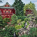 Tea Garden by Lisa Reinhardt