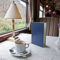 Tea Is Served By Peru Rail On The Way by Michael &Amp Jennifer Lewis