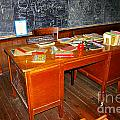 Teacher's Desk by Rich Walter