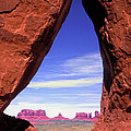 Teardrop Arch Monument Valley by Dave Mills