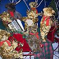 Teddy Bear Band Christmas by Sally Weigand