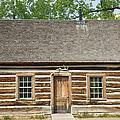 Teddy Roosevelt's Maltese Cross Log Cabin by John Stephens
