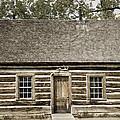 Teddy Roosevelt's Maltese Cross Log Cabin Retro Style by John Stephens