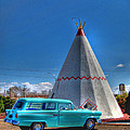 Teepee On Route 66 by Tommy Anderson