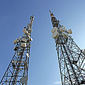 Telecommunications Masts by Carlos Dominguez