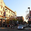 Telegraph Avenue At Bancroft Way In Berkeley California  . 7d10173 by Wingsdomain Art and Photography