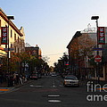 Telegraph Avenue At Bancroft Way In Berkeley California  . 7d10174 by Wingsdomain Art and Photography