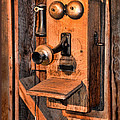 Telephone - Antique Hand Cranked Phone by Paul Ward