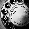 Telephone Dial by Falko Follert