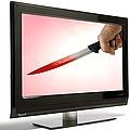 Television Violence, Conceptual Image by Victor De Schwanberg