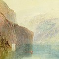 Tell's Chapel - Lake Lucerne by Joseph Mallord William Turner