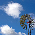 Temecula Wine Country Windmill by Peter Tellone