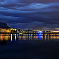 Tempe Arts Center At Sunset  by Saija  Lehtonen