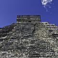 Temple Of Kukulkan Three by Ken Frischkorn