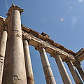 Temple Of Saturn by Rich Bodane