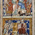 Temptations Of Christ by Granger