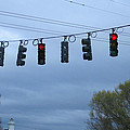 Ten Traffic Lights  by Kym Backland