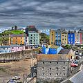 Tenby Harbour In Summer 2 by Steve Purnell