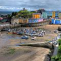Tenby Harbour In Summer by Steve Purnell