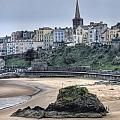 Tenby Over North Beach by Steve Purnell