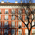 Tenement House Facade In Madrid by Artur Bogacki