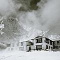 Tengboche Monastery In The Himalaya by Shaun Higson