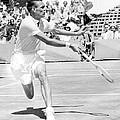 Tennis Champion Jack Kramer, Playing by Everett