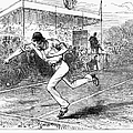 Tennis: Wimbledon, 1880 by Granger
