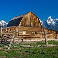 Teton Barn by Greg Nyquist