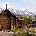 Teton Chapel by Steve Stuller