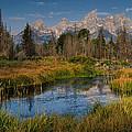 Teton Fall by Charlie Choc