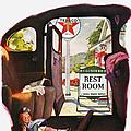 Texaco Advertisement, 1938 by Granger