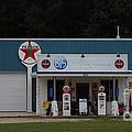 Texaco Gas Station by Grace Grogan