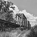 Texas Railroad Bridge by Guy Whiteley