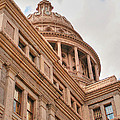 Texas State Capitol Building In Austin IIi by Sarah Broadmeadow-Thomas