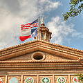 Texas State Capitol Building In Hdr by Sarah Broadmeadow-Thomas