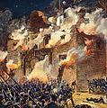 Texas: The Alamo, 1836 by Granger