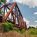 Texas Train Trestle 13984c by Guy Whiteley