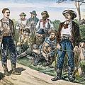 Texas Vigilantes, C1881 by Granger