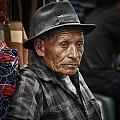Textile Merchant by Tom Bell