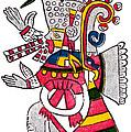 Tezcatlipoca, Aztec God Of Night, Codex by Photo Researchers