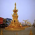 Thai Clock Tower  by Shaun Higson