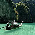 Thai Long Tail Boat  by Bob Christopher